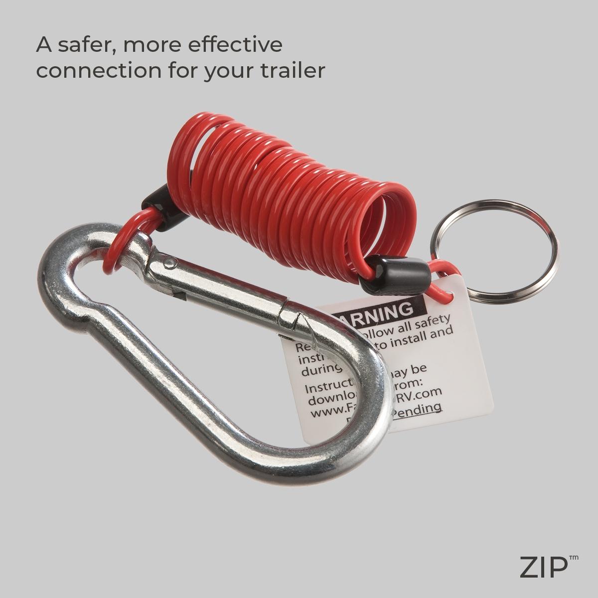 ZIP™ Breakaway Cable | Fastway Trailer