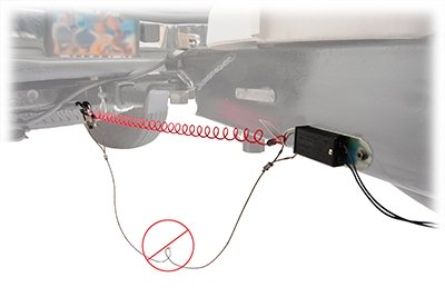 Bargman RV Trailer Breakaway Switch W//Cable /& Pin Breakaway System Switch